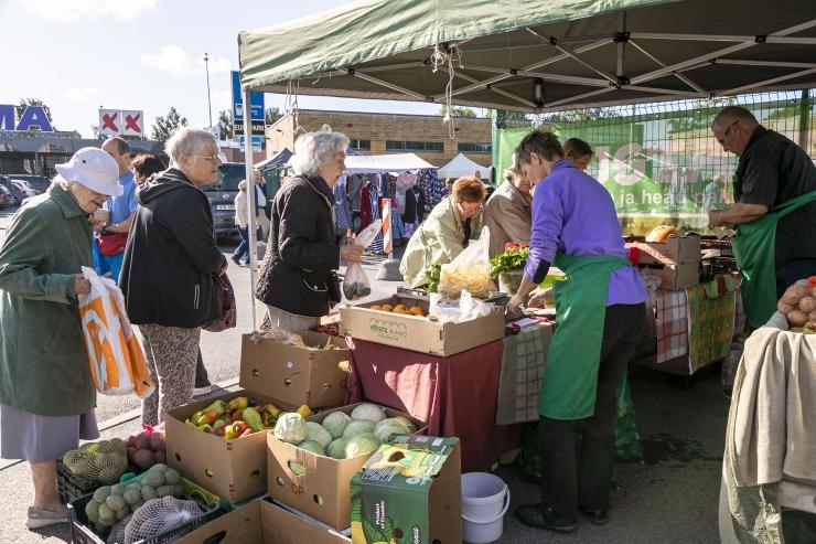 VAATA FOTOSID: Mustamäel toimus rohkete kauplejatega Sügislaat
