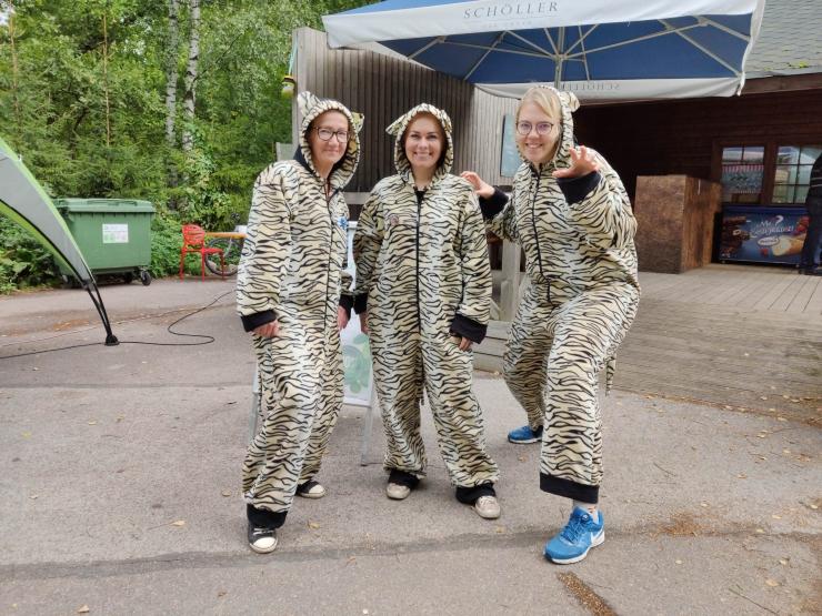 FOTOD! Maratonijooksjad külastasid loomaaeda