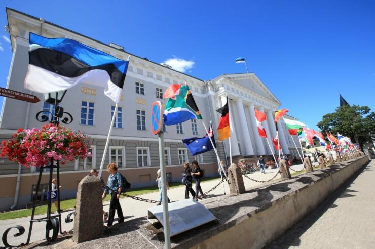 Tartu Ülikool hoiab maailma parimate ülikoolide üha tihenevas konkurentsis järjekindlalt kõrget kohta