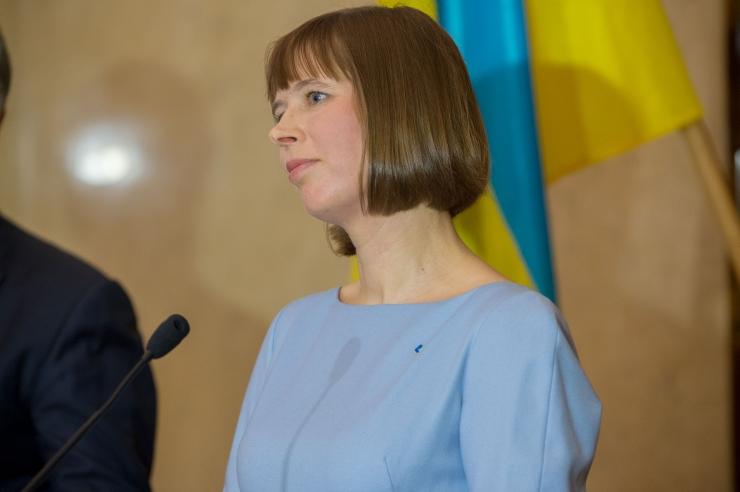 President Kaljulaid on töövisiidil Ukrainas