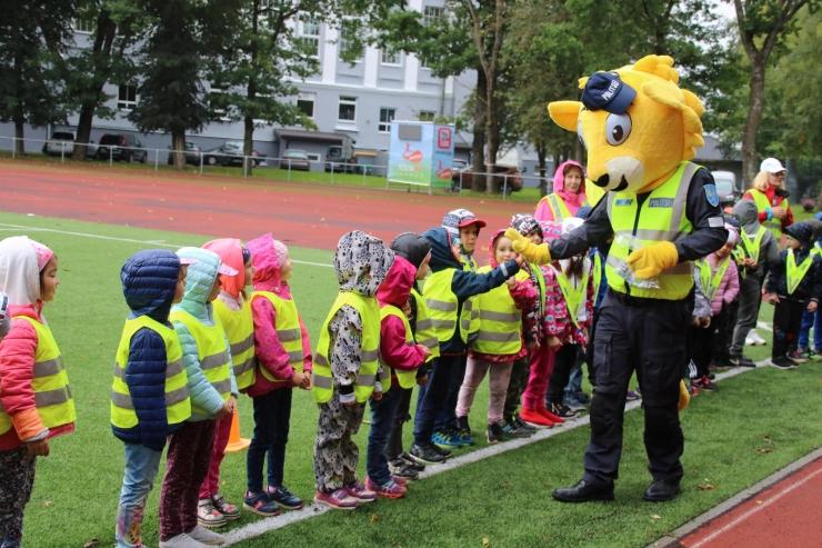 """FOTOD: Ohutusalasel teabepäeval """"Mina Oskan Seda"""" osales üle 500 lapse"""