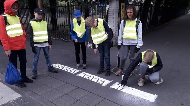 Põhja-Tallinnas jätkub liiklusohutusalane kampaania