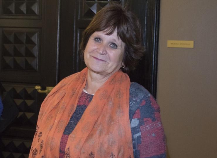 Keskfraktsioon valis uueks juhiks Kersti Sarapuu
