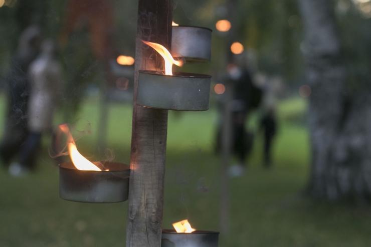 Täna õhtul kell 19.01 käivitatakse vanalinna rajatiste valgustus