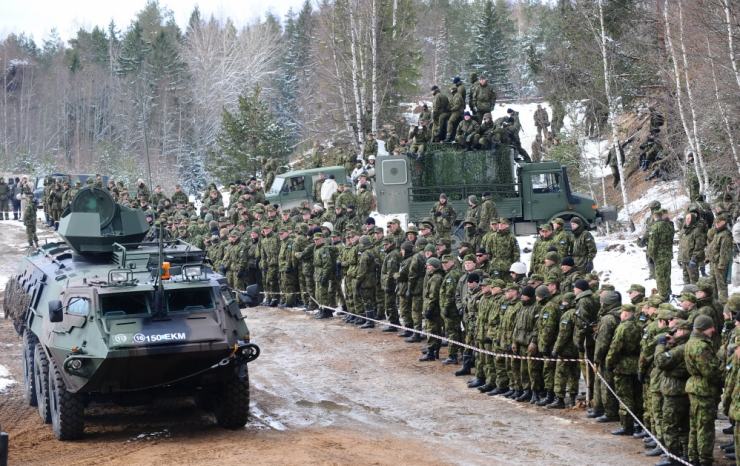 Prantsuse üksus jätkab Tapal NATO lahingugrupis aastal 2021