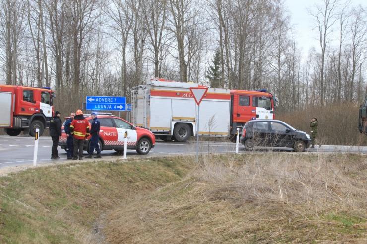 Veoki ja sõiduauto kokkupõrkes hukkus sõiduauto juht