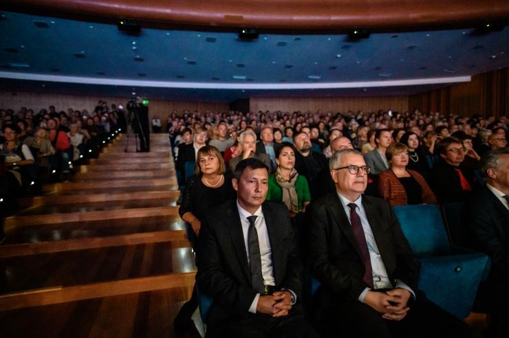 FOTOD! Peterburi kohtumised Tallinnas avati galakontserdiga Alexela kontserdimajas