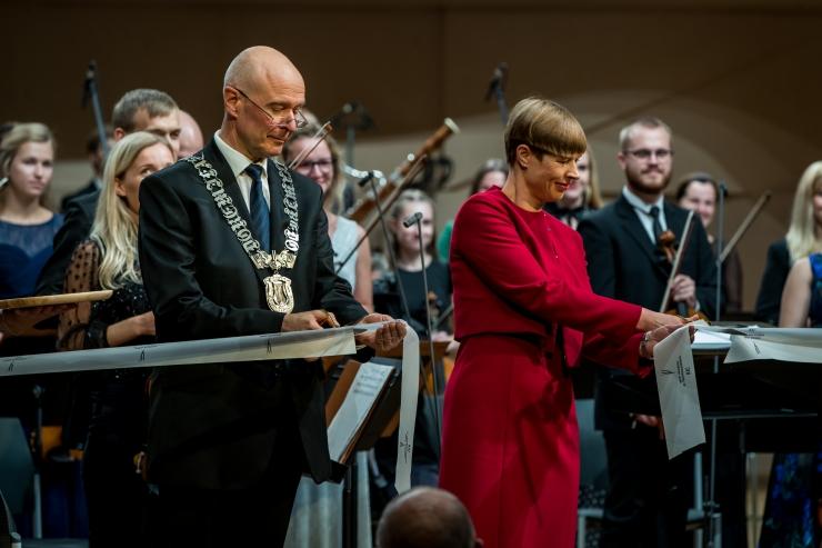 Eesti Muusika- ja Teatriakadeemia avas uue kontserdi- ja teatrimaja