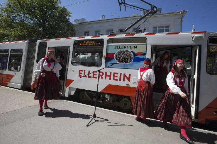 Tallinna neljas muusikatrammis kõlab elav muusika