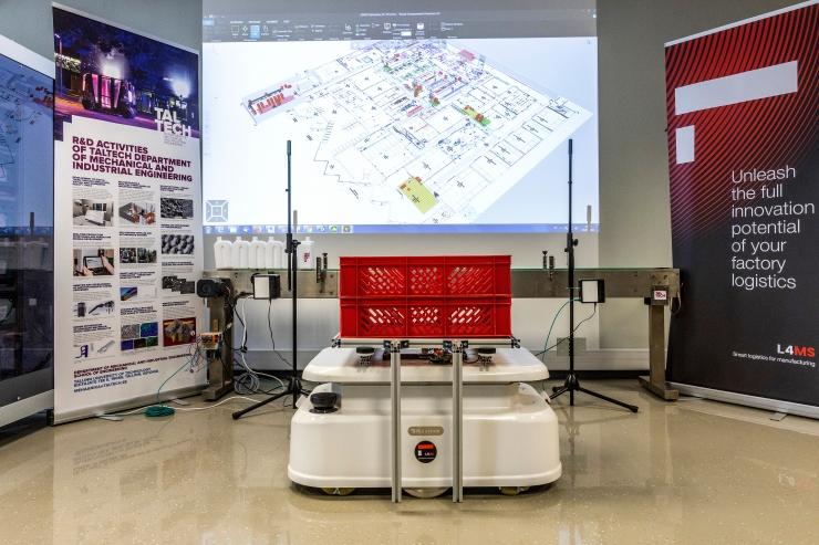 Tehnikaülikool ja Kulinaaria said mobiilsete robotite testimiseks teadustoetuse
