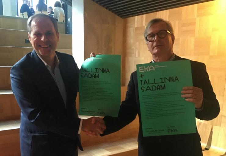 Tallinna Sadam ja Eesti Kunstiakadeemia teevad koostööd Tallinna vanalinna eksponeerimisel