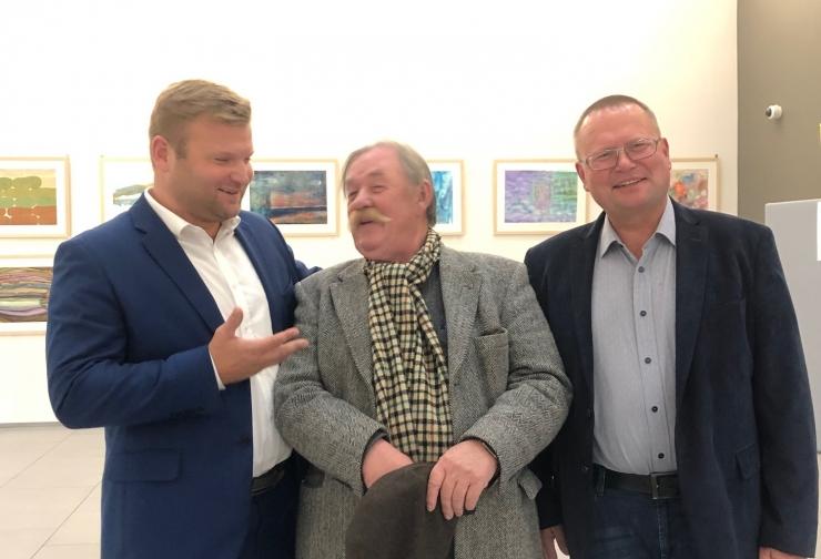 Kultuurikeskuses Kaja käis külas Vladislav Koržets