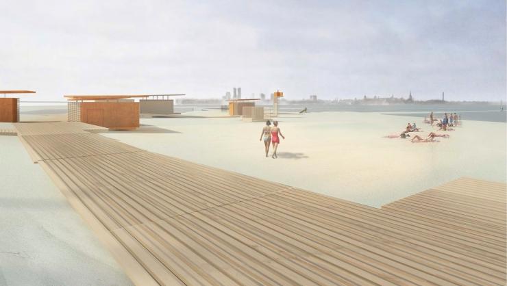 Täna toimub Pirita rannaala detailplaneeringu avalik arutelu