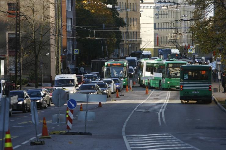 Bussiliin nr 10 suunatakse nädalavahetusel ümbersõidule