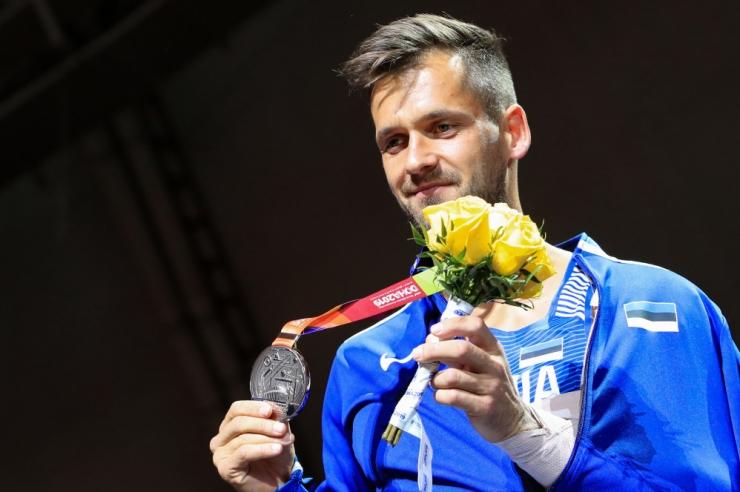 Magnus Kirt võitis kergejõustiku MM-il odaviskes hõbemedali