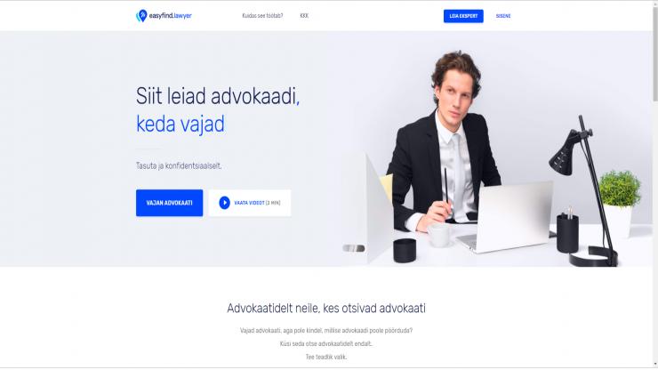Veebirakendus lihtsustab õigusabi vajajale advokaadi palkamist