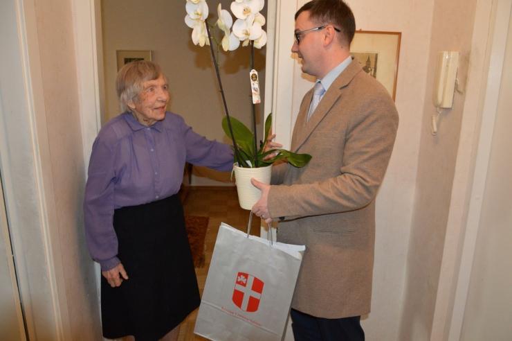 Kristiine tuntud kunstiajaloolane Heini Paas tähistas 101. sünnipäeva