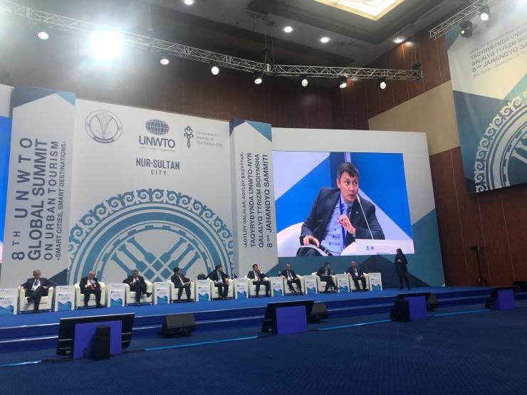 Tallinna linnapea osaleb Maailma Turismiorganisatsiooni linnaturismi tippkohtumisel