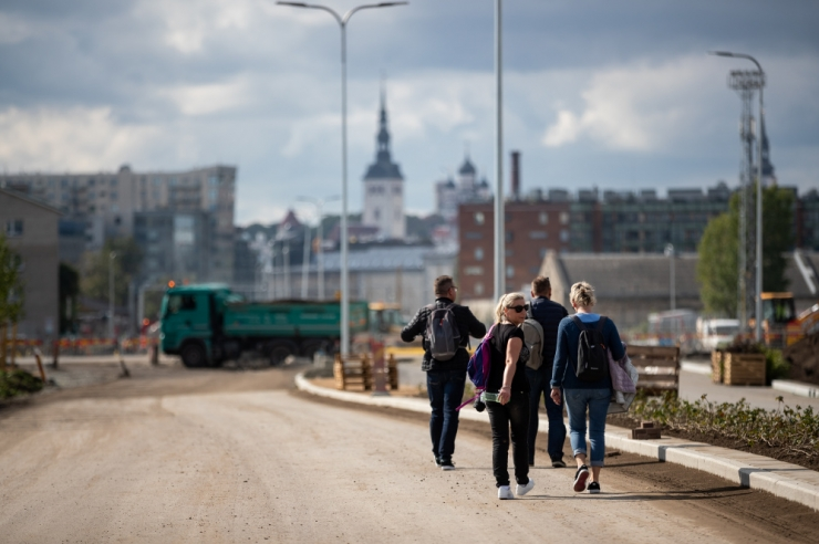 Esmaspäevast muutub Tallinnas Ahtri ristmikul liiklus sujuvamaks