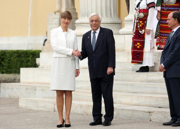 President Kaljulaid Iirimaa presidendile: toetame teid igal sammul