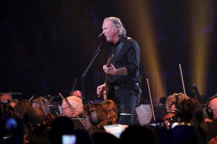 Forum Cinemas korraldab täna õhtul Metallica kontsertfilmile lisaseansid