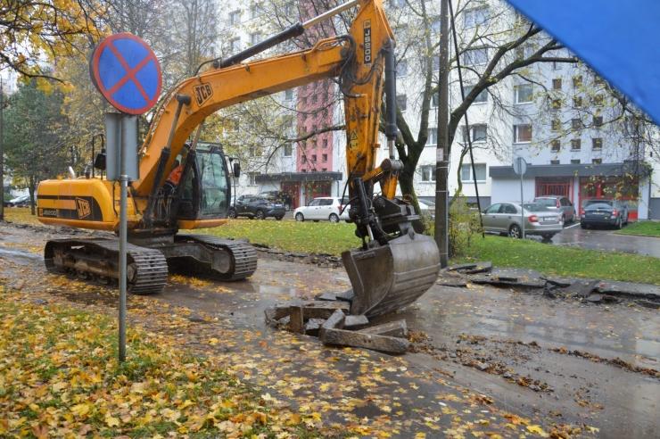 Kristiines algas kauaoodatud Kirsi tänava remont