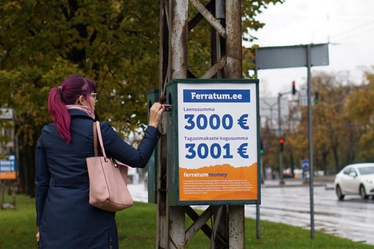 Ferratum Bank aitab hoida Tallinna puhtana