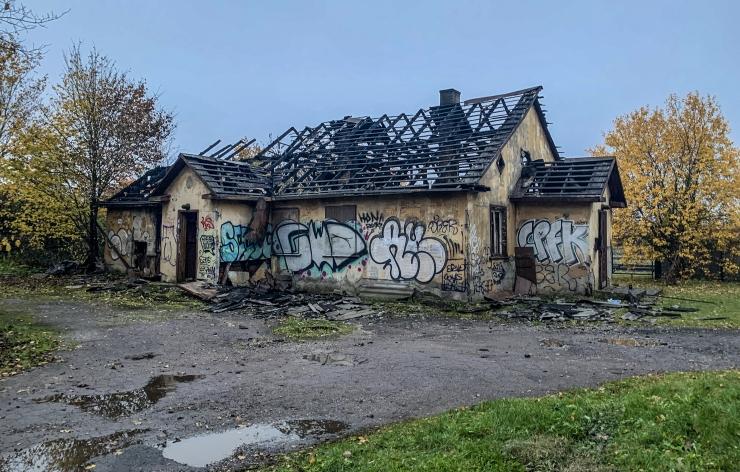 Mupo: iga mahajäetud hoonega kaasneb tuleohtlikkuse risk!