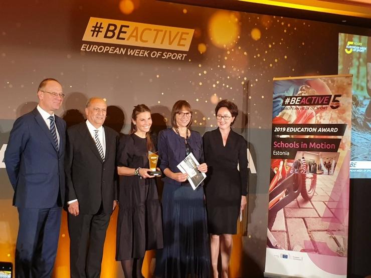 Liikuma Kutsuv Kool sai Euroopalt tunnustuse