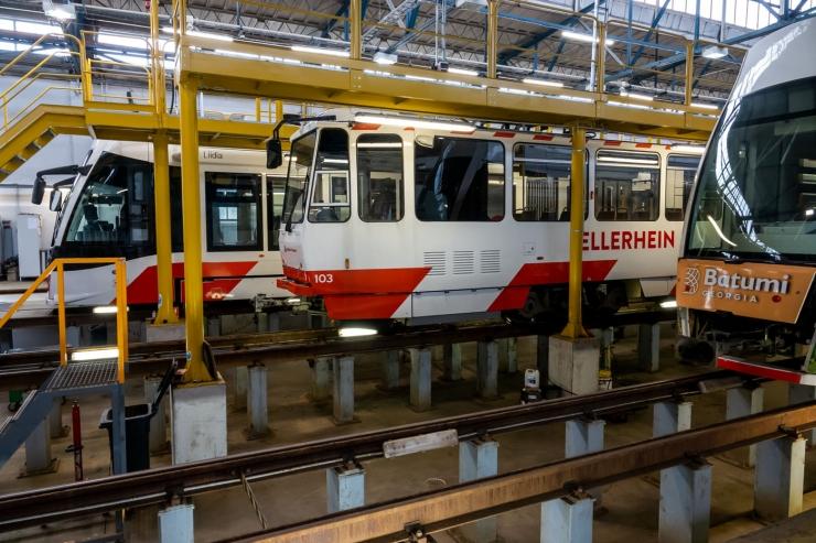 Tallinna Linnatranspordi AS ostab kaheksa uut trammi