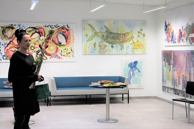 Nõmme Majas avati Sirje Sirita Somelari näitus