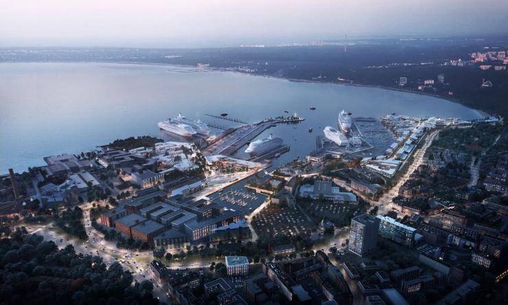 Tallinna Vanasadama piirkonda ootavad uuendused