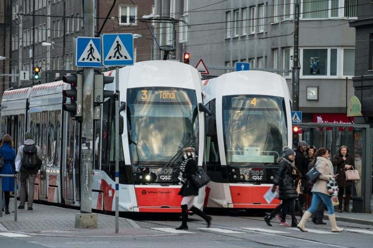 Tallinna Linnatransport tutvustab lastele tramme