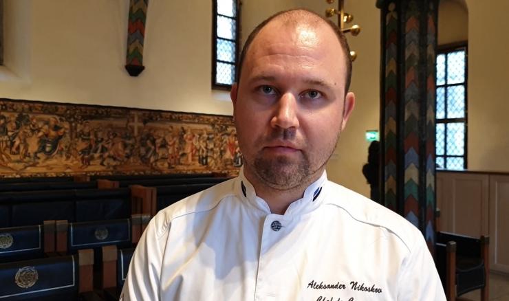 Aleksander Nikoškov: meie restoraani menüü muutub neli korda aastas