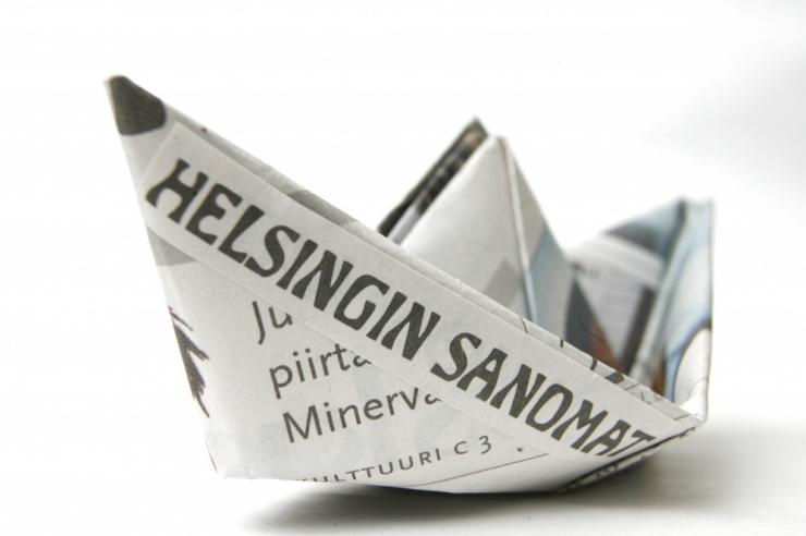 Ajalehe Helsingin Sanomat peatoimetaja ei nõustu maksutulude salastamisega