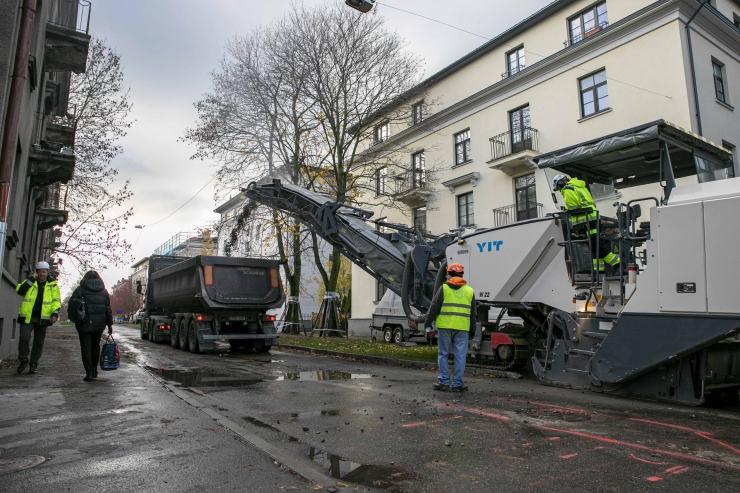 Linn panustab tuleval aastal enam kvartalisiseste tänavate remondile