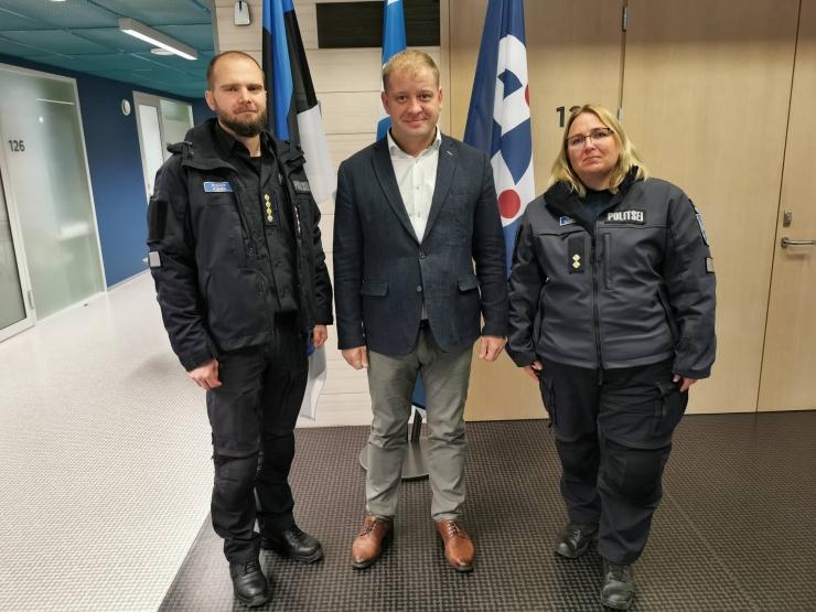 Pirita linnaosa vanem tõhustab koostööd politseiga