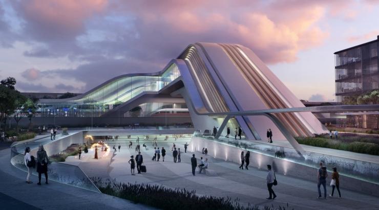 VIDEO JA FOTOD! Selgusid RB Ülemiste ühisterminali arhitektuurikonkursi võidutööd