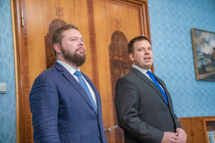VIDEO! Väliskaubandus- ja IT-ministrina astus ametisse Kaimar Karu