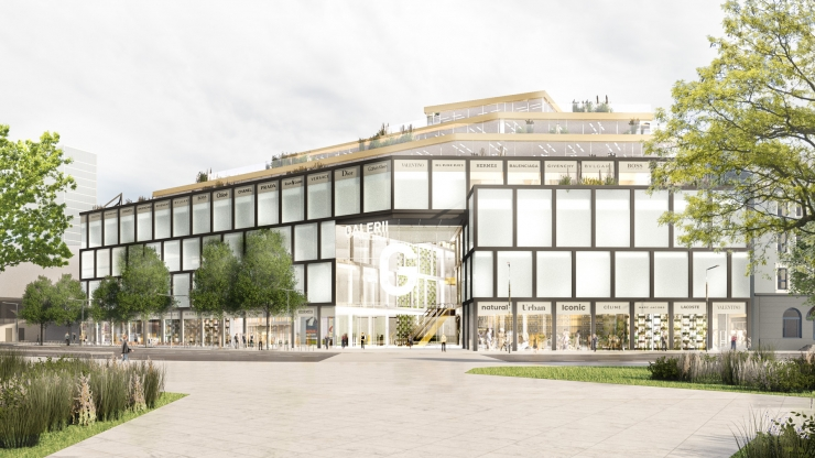 Suur arhitektuurikonkurss: neli projekti võistlevad, milline hakkab Tallinna kesklinn mõne aasta pärast välja nägema