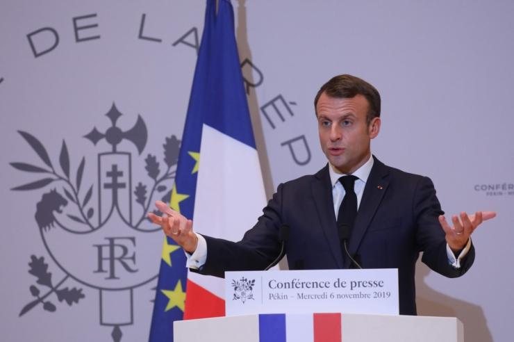Prantsuse presidendi sõnul on NATO ajusurmas