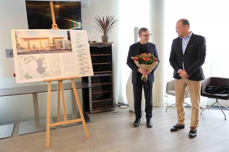 VIDEO! Rävala ja Estonia puiestee vahelise kvartali arhitektuurikonkursi võitis AB KOKO arhitektid