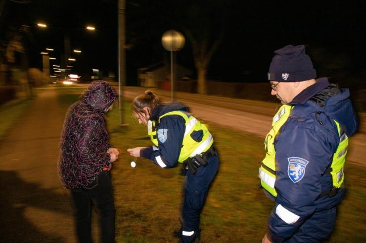 Politsei kutsub üles oma kodukoha elanikke nähtavaks tegema