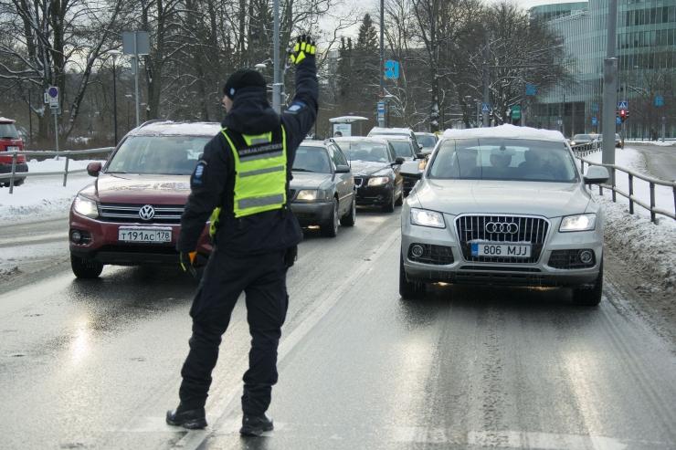 Homme on Tallinnas lühiajalised liikluspiirangud