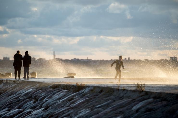 Detsember algab rannikualadel tuuliselt