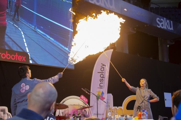 VIDEO JA FOTOD! Saku Suurhallis toimus planeedi suurim robootikafestival Robotex