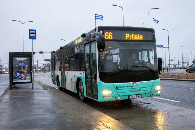 TLT teenindavate bussiliinide arv kasvas viiendiku võrra