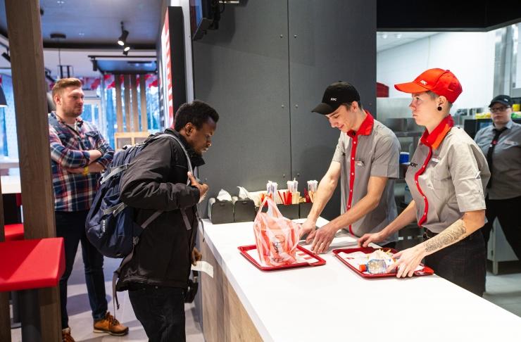 Kristiine keskuses avati KFC restoran
