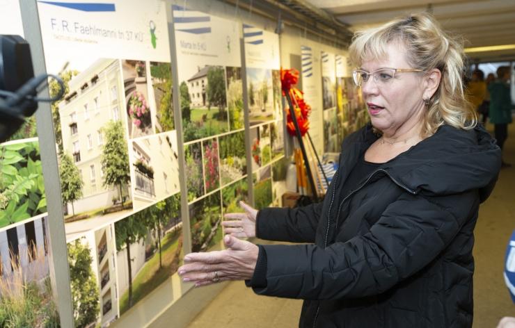 VIDEO JA FOTOD! Vabaduse väljaku tunnelis näidatakse taas korterelamute kauneid õuealasid
