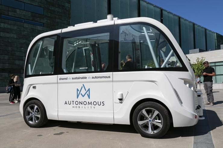 Aas: Eesti on edumeelsemaid riike isejuhtivate autode arengus Euroopas